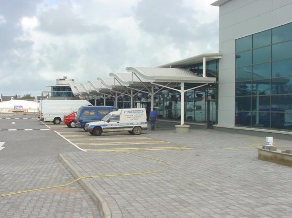 Car Park and Architectural Canopy & Supermarket Car Park | Parking Lot Design u0026 Construction